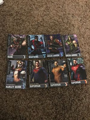 Injustice game cards for Sale in Costa Mesa, CA