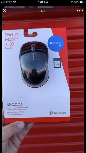 Brand New Microsoft Wireless Mobile Mouse 3500 for Sale in Bakersfield, CA