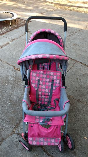 Adeline baby girls double stroller for Sale in Stockton, CA
