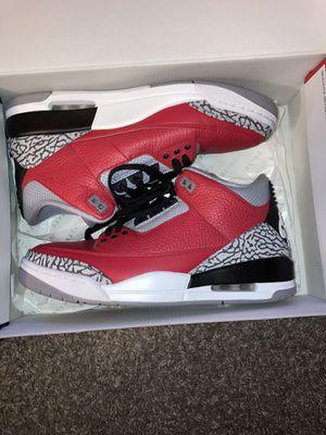 Air Jordan 3 retro OG 'red' for Sale in Silver Spring, MD