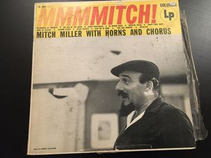 Vintage Record Mitch Miller with Horns and Chorus Album LP (Classic 40's 50's Chorus Band Orchestra great Music) for Sale in Altadena, CA