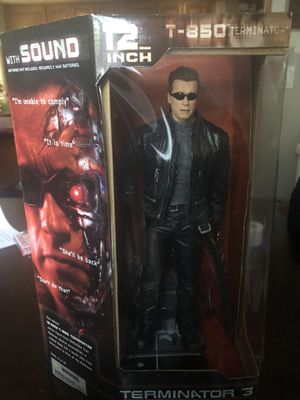 McFarlane Toys Terminator 3 12 inch T-850 Electronic Action Figure 2003 New for Sale in Folsom, CA