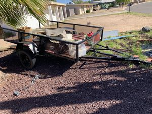 Trailer utility homemade 5x10 for Sale in Mesa, AZ
