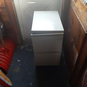 Metal filing Gabinet 2 Drawers for Sale in Malden, MA