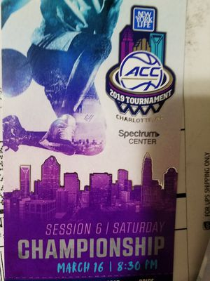 Acc tournament for Sale in Charlottesville, VA