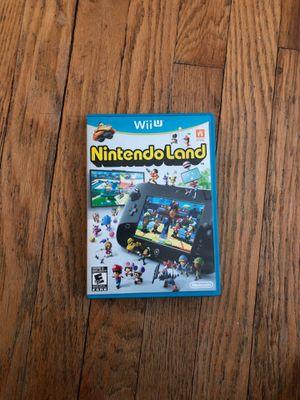 Wii U Nintendo land video game for Sale in Burlington, CT