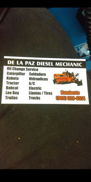 Diesel mecanico bobcat. Catarpilla 6.6 7.3 for Sale in Fontana, CA