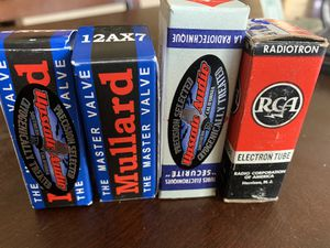 Various Tubes for Amplifier for Sale in Millbrae, CA