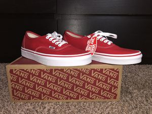 Red & White Vans for Sale in Land O Lakes, FL