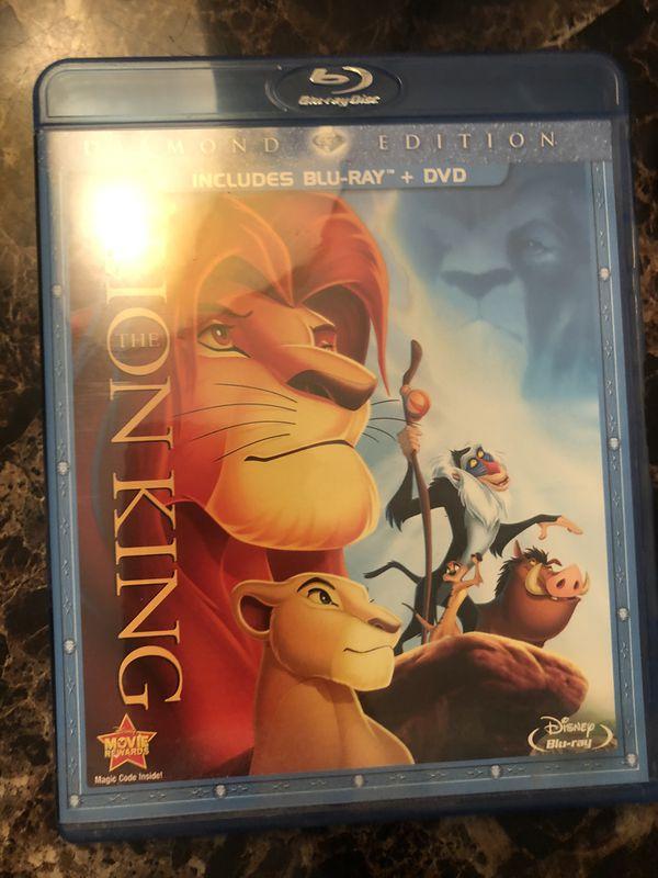 Disney 6 lot Blu-ray movies with DVD