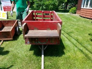 wagon to pull behind small tractor for Sale in Plainfield, IL