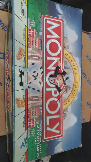 MONOPOLY DELUXE EDITION Board Game for Sale in North Las Vegas, NV