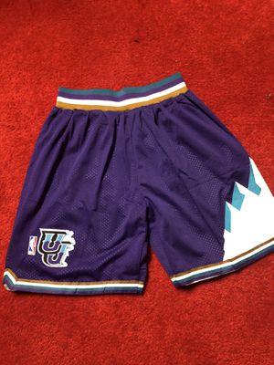 Utah Jazz adidas shorts men's medium for Sale in Atlanta, GA