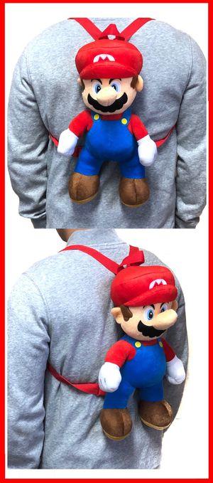 NEW! Novelty Super Mario Bros Backpack, Luigi Yoshi mario Kart Mario party kids bag Nintendo switch for Sale in Carson, CA
