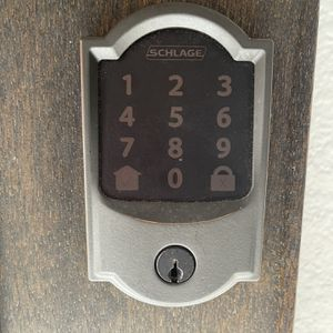 Camelot Encode Smart Wifi Door Lock with Alarm in Aged Bronze for Sale in Stafford, TX