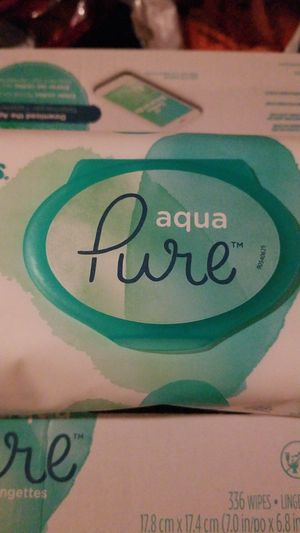 Pampers Aqua Pure Baby Wipes for Sale in Fair Oaks, CA