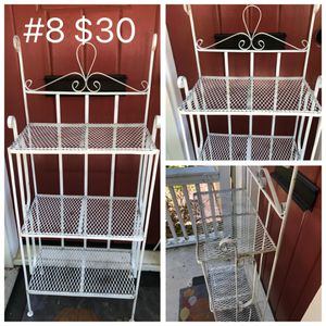Metal decorative shelves for Sale in Tulsa, OK