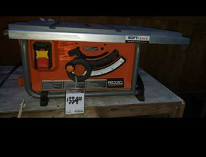 "Ridgid Compact Table Saw 10"" (No Fence No Blade for Sale in Dallas, TX"
