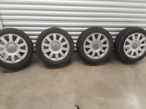 5 lug rims and tires off Audi A4 for Sale in Denver, CO