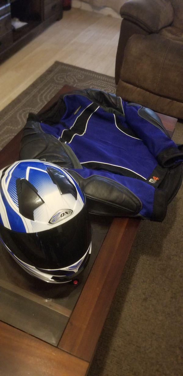 $$$helmet and jacket$$$