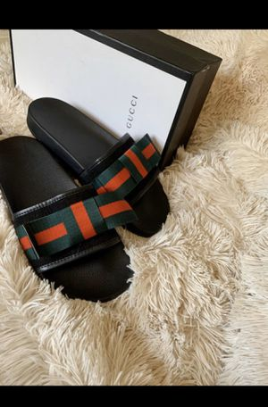 Gucci slides women size 10 for Sale in Columbia, MD