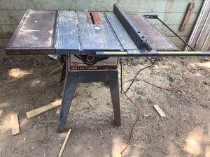 "Craftsman 10"" tablesaw for Sale in Riverside, CA"