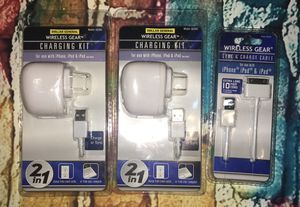 iPhone, iPod, iPad charging kits and cable wireless for Sale in Columbia, SC