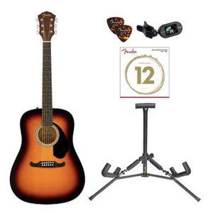 Fender FA-125 Acoustic Guitar Bundle for Sale in Austin, TX