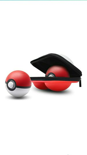 Carry Case for Pokemon Lets Go Pikachu Eevee Game Poke Ball Plus Controller,Protective Hard Portable Travel Carry Case Bag Double Ball Case for Sale in Las Vegas, NV