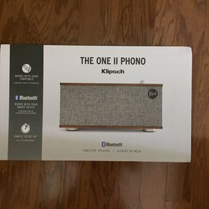 KLIPSCH THE ONE II-WIRELESS SHELF STEREO for Sale in Charlotte, NC