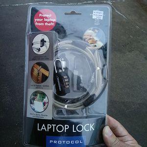 Laptop lock brand new in the case for Sale in Nashville, TN