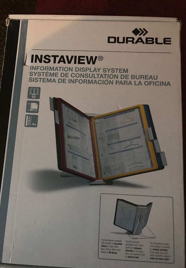 Instaview information display system