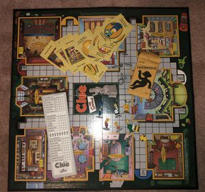 Simpson's Clue Board game for Sale in Miami, FL