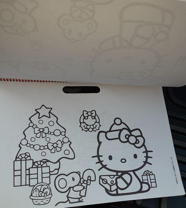 Hello Kitty Jumbo Coloring Poster Pad