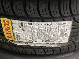 Pirelli pzero Nero tires brand new for Sale in Savannah, GA