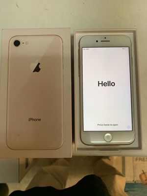 Apple iPhone 8 Gold 256GB Smartphone for Sale in Los Angeles, CA