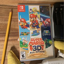 Mario 3D All Stars Adventures. Nintendo Switch for Sale in Everett,  WA