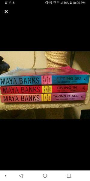 The surrender triology maya banks book set for Sale in Charleston, WV