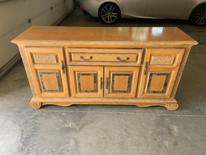 Dining room sideboard/buffet table for Sale in Cary, NC
