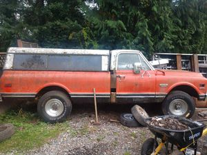 1969 Chevy 3/4 4x4 4 speed for Sale in Black Diamond, WA