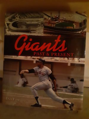SF Giants Past and Present Book for Sale in Walnut Creek, CA