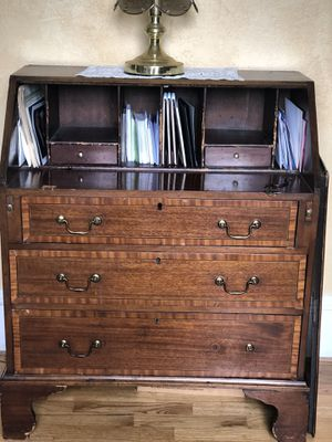 Antique Secretary's Desk with drop leaf for Sale in Mercer Island, WA