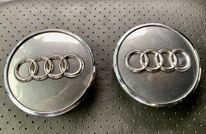 Audi Oem Wheel Center Caps (2) pair for Sale in West Covina, CA
