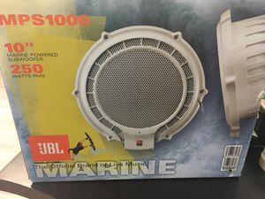 JBL MPS1000 10-Inch 250-Watt Powered Marine Subwoffer for Sale in Chevy Chase, MD