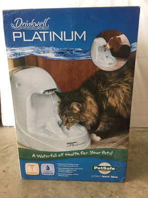 Drinkwell Platinum Pet Watering Station for Sale in Ashburn, VA