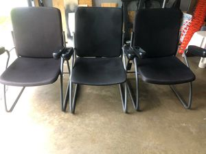 Black chairs for Sale in Bowie, MD