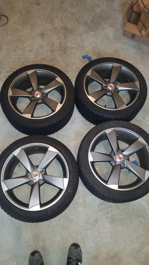 Audi/VW wheel and snow tire set for Sale in Clarksburg, MD