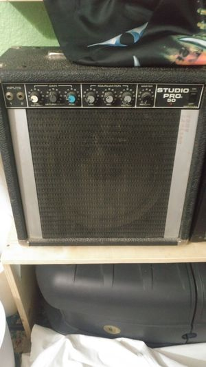 Peavey Bass and Guitar Amp,Sunlite Drums for Sale in Lake View Terrace, CA
