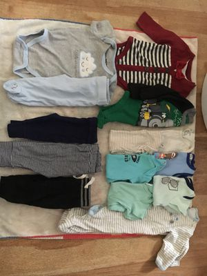 Baby boy clothes 0-6m for Sale in Santa Monica, CA