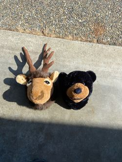 Stuffed Elk and Bear Heads for Sale in Maple Valley,  WA
